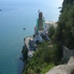 Il mare di Amalfi visto da Ravello